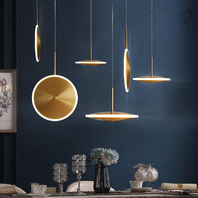 armatür Luminaria cam bilye oturma odası Ev Dekorasyon E27 Işık Armatür asılı tavan kolye ışıkları lambaları