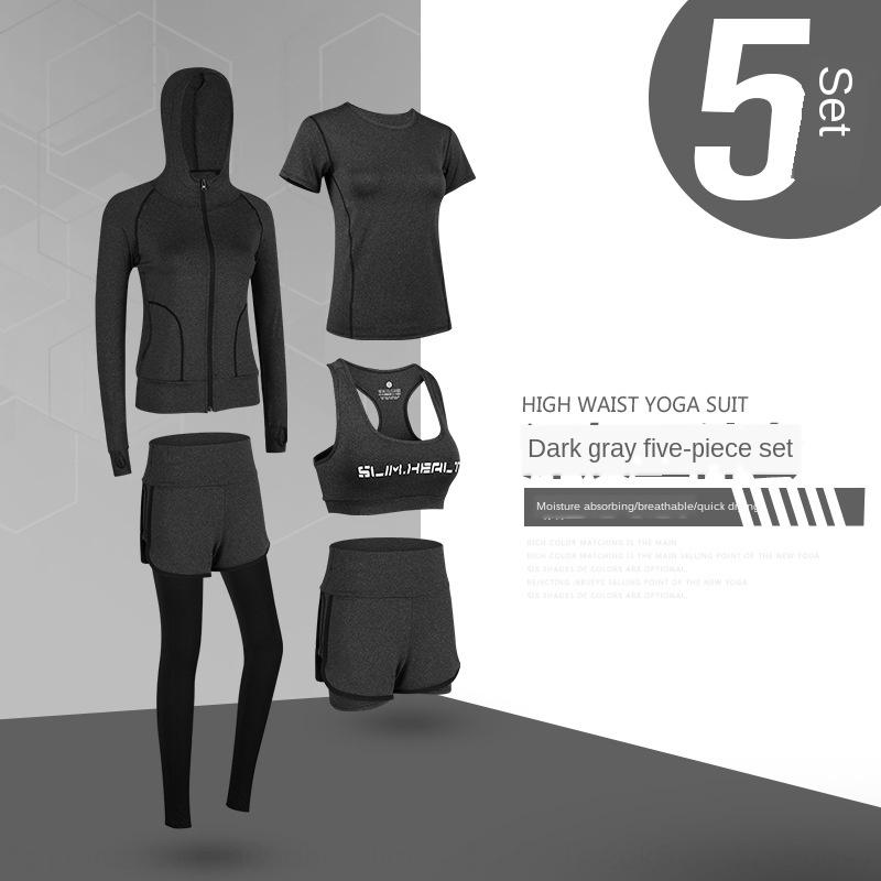 cI0RE Sportanzug Frühlingssportbekleidung für 2020 neue Turnhalle beliebte Sportswear Frauen Fitness für Anfänger Online-Freizeitkleidung Yoga 2ZXCJ läuft