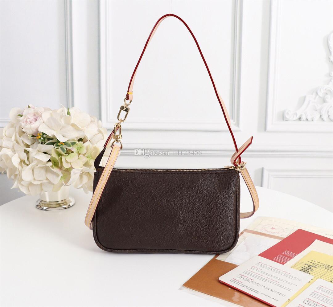 Accessoires de stylo classique de mode sacoche haute qualité pochette sacs à main en cuir femmes marques style style sac à bandoulière de luxe Jaqog