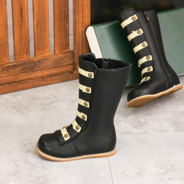 أزياء الأطفال أحذية بنات رصع الأميرة أحذية أحذية المولود الجديد مارتن أحذية أطفال برشام الأطفال فارس أحذية الساخن بيع