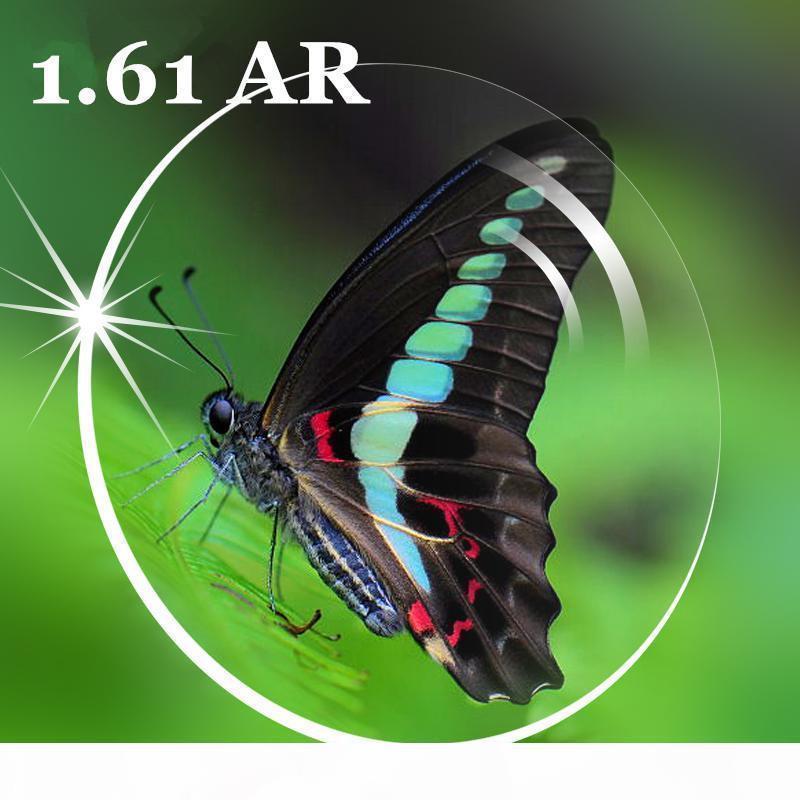 1,61 Anti-Reflection AR Glasses Clearing- Objektiv Optischer Augenkorrekturgläsern Optische Linsen Super dünne Aspheric Resin Korrekturgläsern