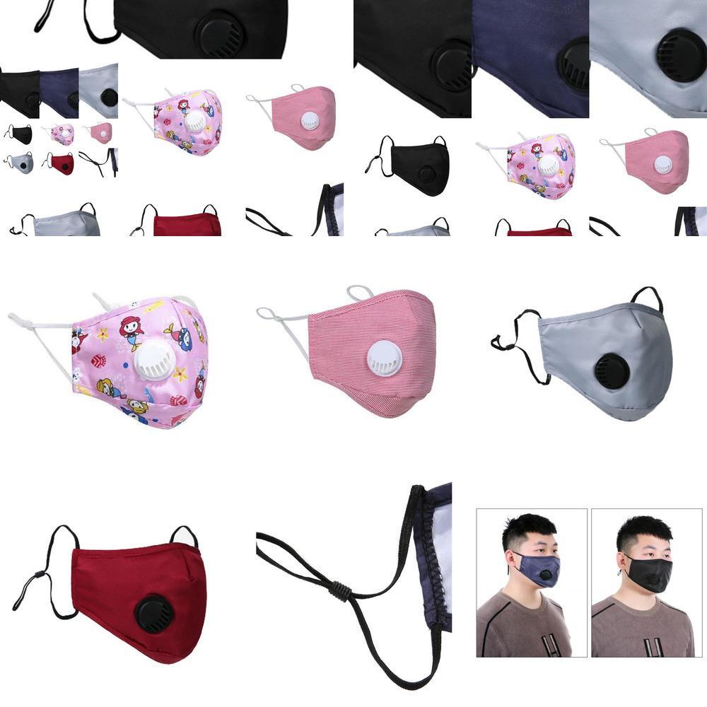 Designer Mundmaske Gesichtsmaske Gesicht Er PM2.5 Staubdichtes Anti-l Waschbar Wiederverwendbare Ice Silk Co R93n 3xo4