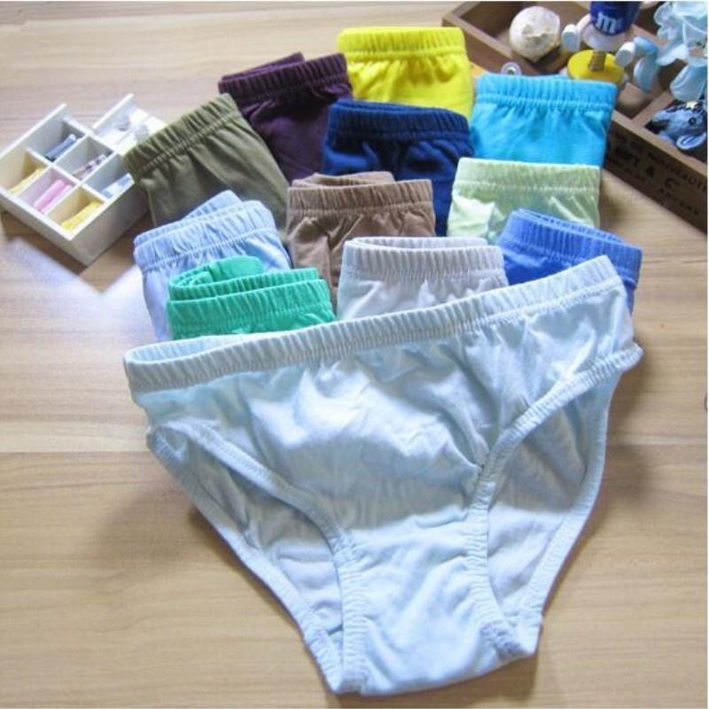 1--12 Yıl için 3 parça Bebek Brifing Çocuk Boys Külot Hediyeler Çocuk İç Giyim Mayo