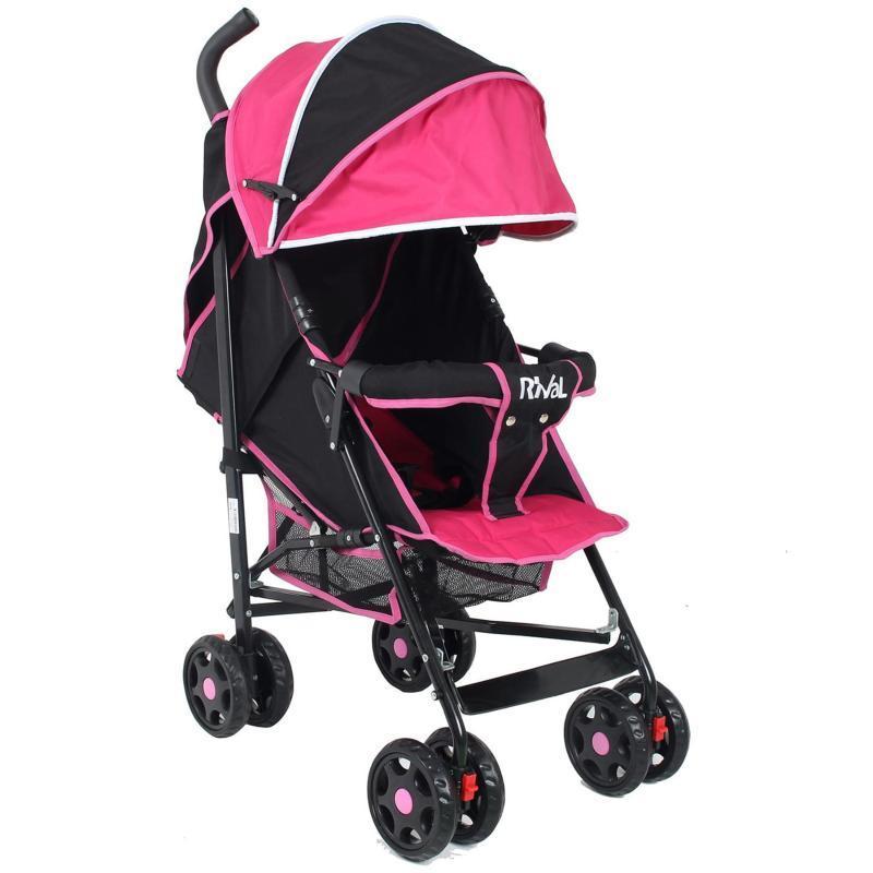 Baston Pembe Bebek Arabası