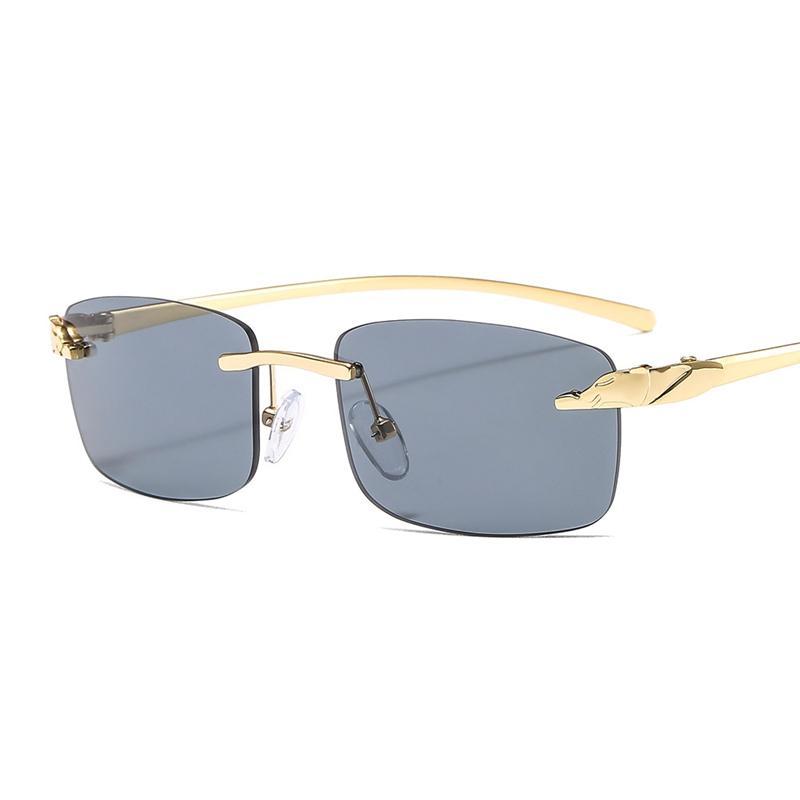 Lunettes de soleil à la mode pour hommes et femmes Mode Petite boîte Sunglasses All-match Designer UV Livraison gratuite CPKKP