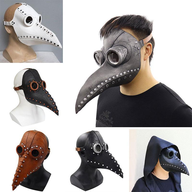 маски партии Halloween потому панк мор клюв доктор косплей реквизит европейских и американских поставки троистых партий праздника Dropshipping F2901