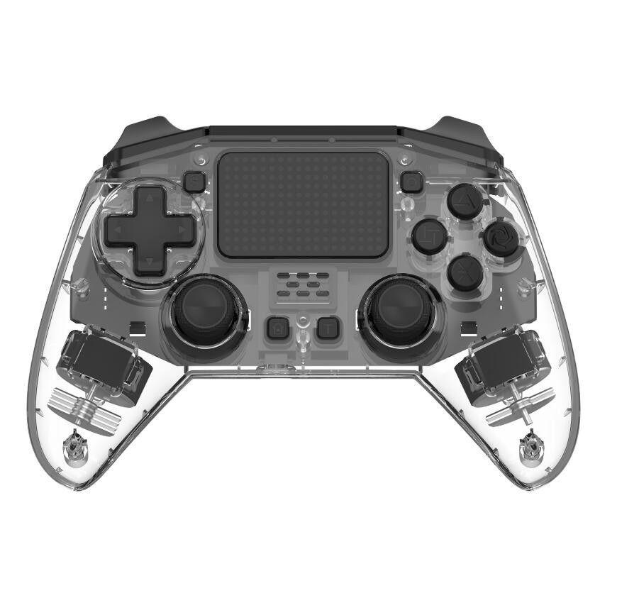Производители частных внешний вид модели патент сертификации беспроводной Bluetooth PS4 игровой контроллер кабель p4 приватный режим ручки
