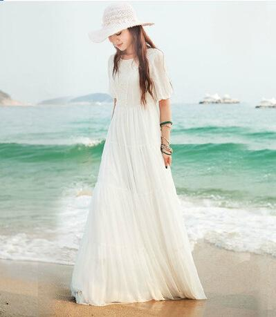 Bohemia Turquía bata de vacaciones en la isla dressdress vestido dresswaist-atado necCP Turquía isla bata de Bohemia de la cintura-atado
