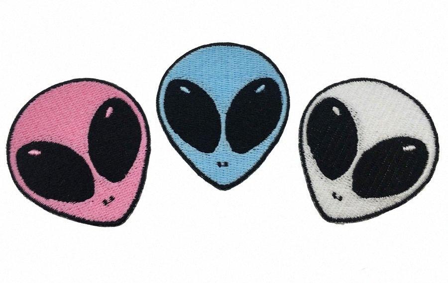 Всего Продажа ET Вышитых Iron Шитье куртка патч для белых и синих розового цвета патча tZ83 #