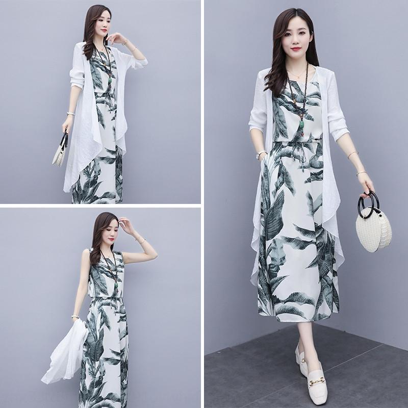 moda vestito del vestito di modo casuale delle donne dea oREbS gG0gm estive Pantaloni- Gamba ampia nuova moda dei pantaloni a gamba larga due pezzi temperamento