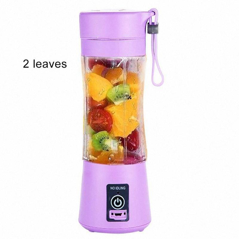 USB portátil Botella Juicer de la fruta de la coctelera Exprimidor eléctrico del fabricante del Smoothie Blender Mini Hogar ysrz #
