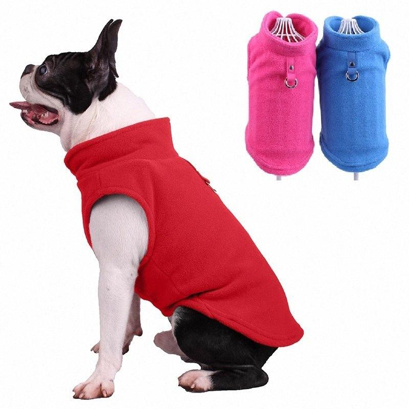 Fleece Pet Dog Clothes Jacket Winter French Bulldog Clothing Puppy Dog Coat for Small Dogs Chihuahua Pug 2emn#