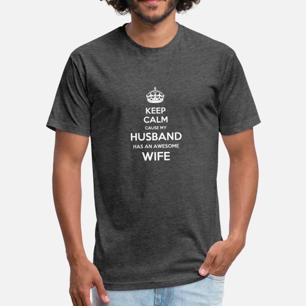 Moglie e marito Coppia S uomini della maglietta personalizzata al 100% cotone O-Collo homme Fit confortevole estate Style Trend