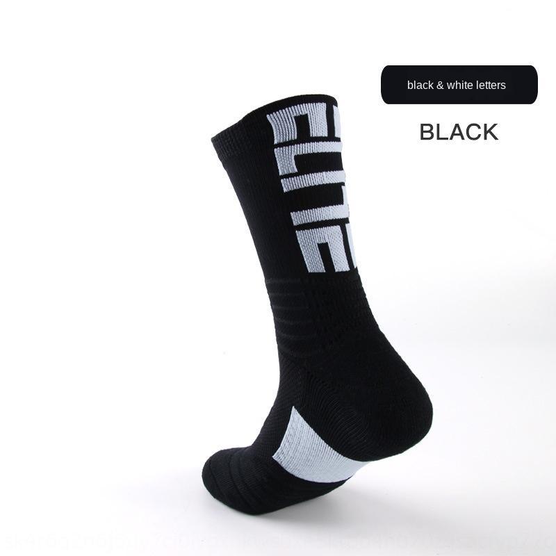 wZF58 transpirable transpirable baloncesto de la élite de baloncesto de los deportes que absorbe el sudor engrosadas de deportes profesionales de los hombres profesionales calcetines de los hombres