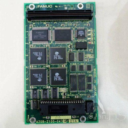 İkinci 1PC FANUC A20B 2100-0430 A20B21000430 tam olarak test edilmiş kalite güvencesi