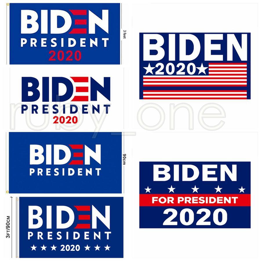 Joe Biden 2020 Bandiera Supporto Lettera Opporsi Joe Biden Presidente USA 90 * 150cm Banner Bandiere Big Hanging Trump RRA3485
