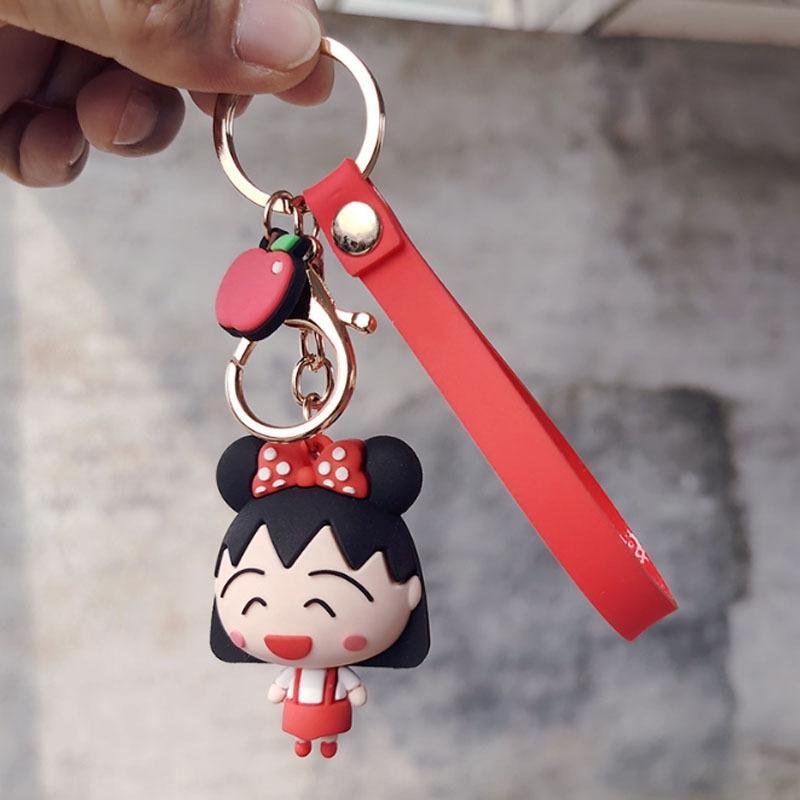 Kadınlar için vhoZS Kiraz Maruko araba anahtarlık yaoskou anahtarlık gece kolye pazar kolye etkinlik hediye