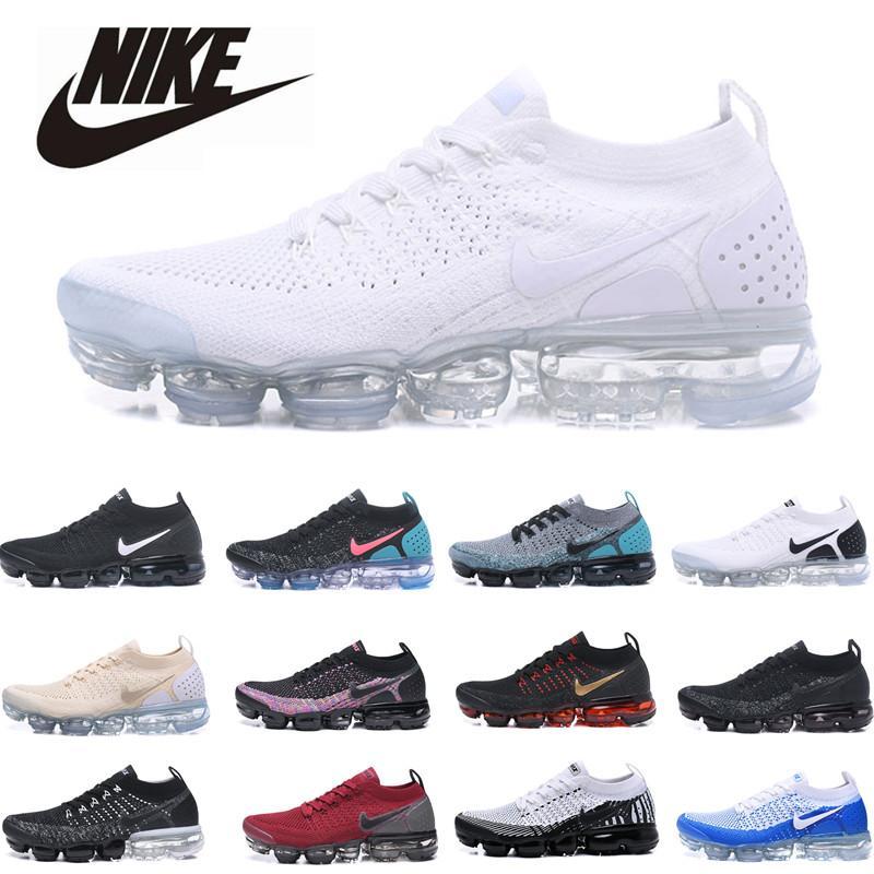 2 Yürüyüş Ayakkabı 36-45 Koşu Kadınlar Sneakers Mens Beyaz Siyah Eğitmenler Sports İçin Ayakkabı Koşu 2020 2.0 Erkekler
