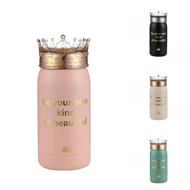 Beautiful Cups Queen Covers Mug 300ml Water Insulated Portable Tumblers Stainless Steel Tea Bottle Coffee Milk Good Looking 33hh E2