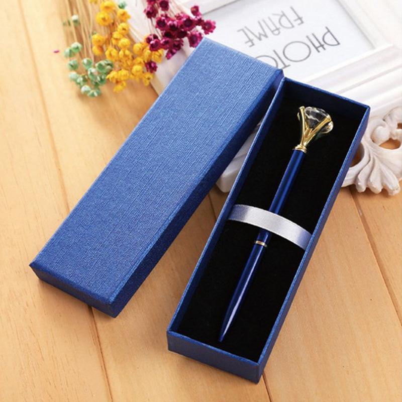 100шт 5 цветов Крафт бумага Подарочная коробка пенал Канцелярские товары Бизнес-школа для офиса Present упаковочной коробки с крышкой