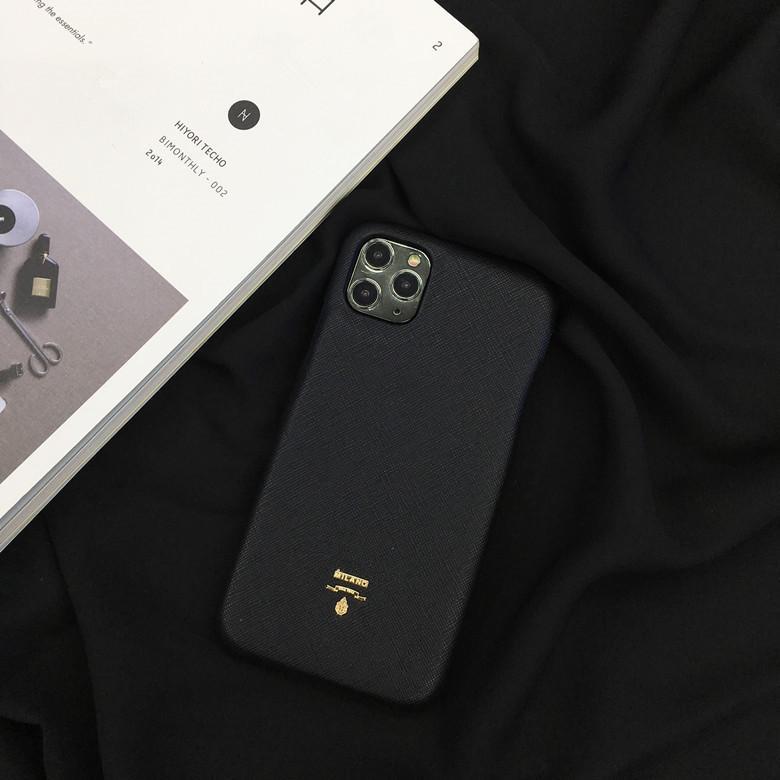 아이폰 11 프로 X XS MAX XR 7 8Plus 패션 호랑이 머리 스탬핑 디자이너 보호 뒷 표지 Funda에 대한 고급 가죽 전화 케이스