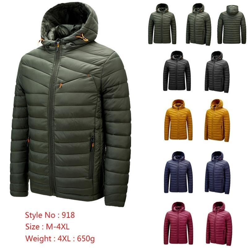Herren Winter warme Outdoor-Daunenjacke heißen Verkauf Art und Weise 1ON8K7CEB