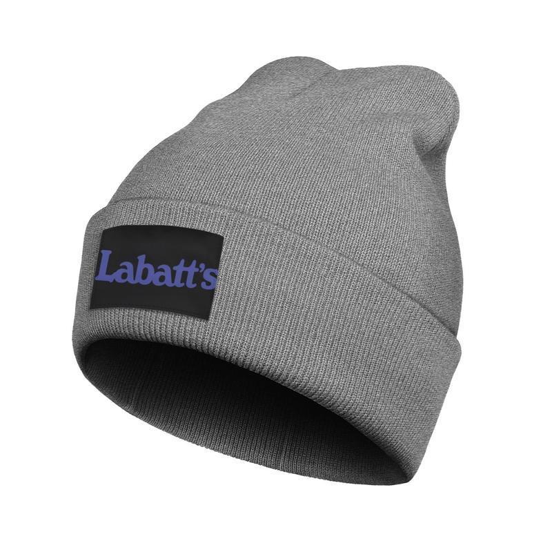Mode Labatt 50 bière Boutons de manchette Toboggan Bonnet chapeaux cool Logo de Labatt d'or en Amérique du Drapeau rose du cancer du sein