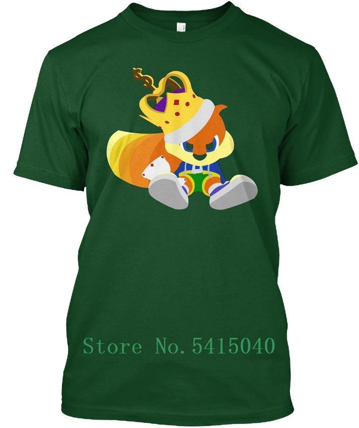 Conker Refroidir Tagless T T-shirt personnalisé T-shirt pour homme Coffrets cadeaux T-shirt à la mode Homme T-shirt de manches courtes hommes