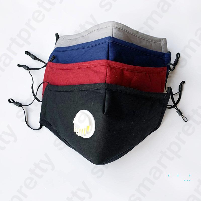 Havalandırma Vana toz geçirmez Ağız Maskeleri Yıkanabilir Anti Toz Koruyucu Maske Yedek Filtre D331 ile Unisex Yetişkin Yüz Maskesi