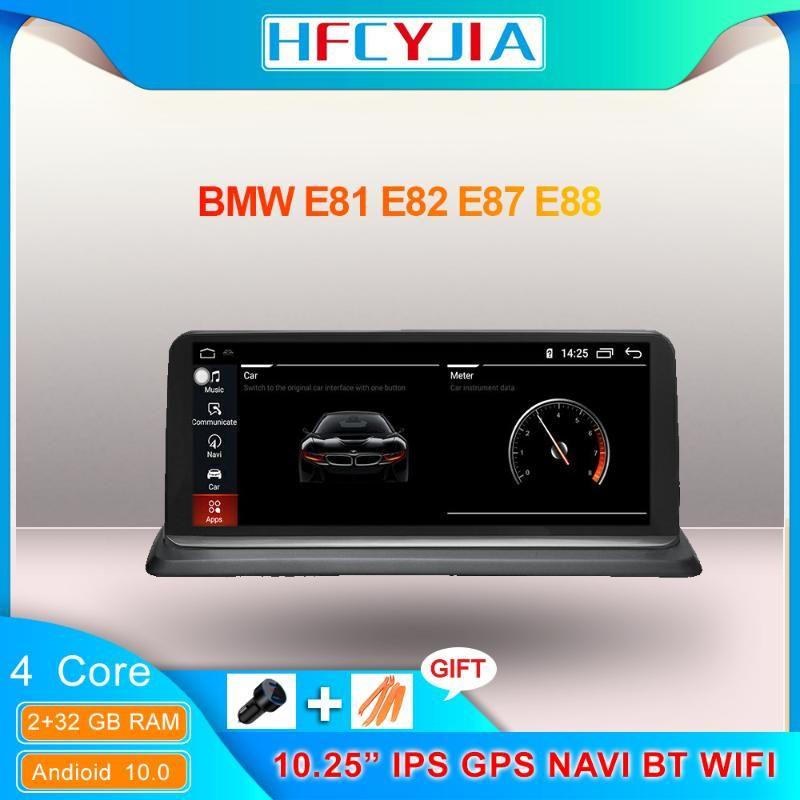 Android 10 System Car Multimedia estéreo para E87 E81 E82 E88 2005-2012 WIFI 2 + 32GB IPS Pantalla táctil de Google GPS Navi BT DVD