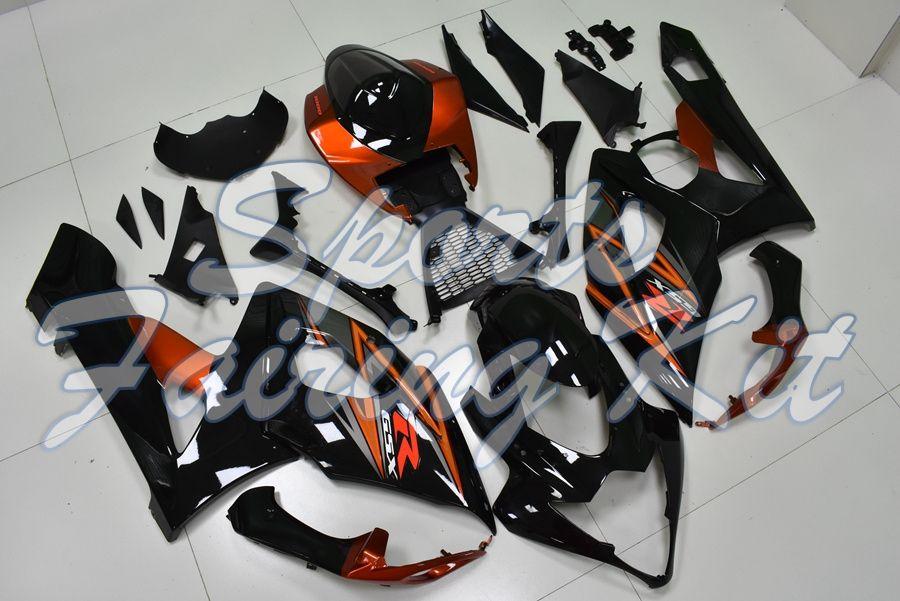 Обтекатель для GSXR 1000 2005 - 2006 K5 Пластиковых зализ для Suzuki GSXR1000 2005 Full Body Kits GSX R 1000 2005