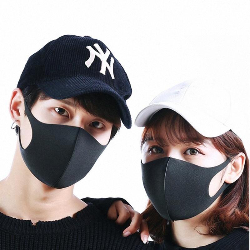 Einweg-Gesichtsmasken Staubdichtes Earloop Staubmundmasken Abdeckung 3Ply Non Woven-Maske Frei 4pYe #