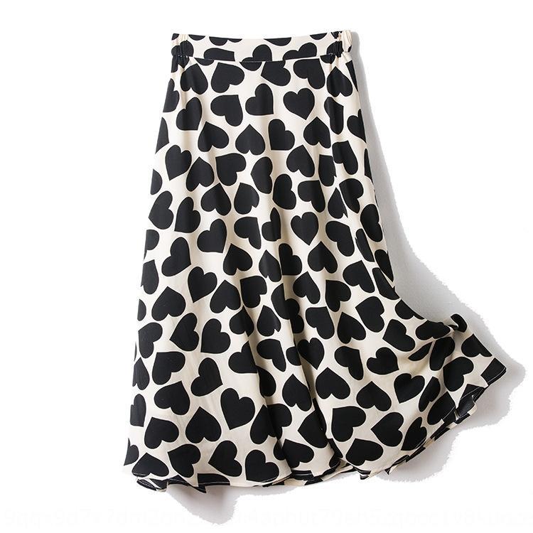 g2rSF Gaoke 2020 été nouveau top en maille mini-jupe costume de mode + Amour imprimé surjupe ins Veste minijupe costume deux pièces de femmes