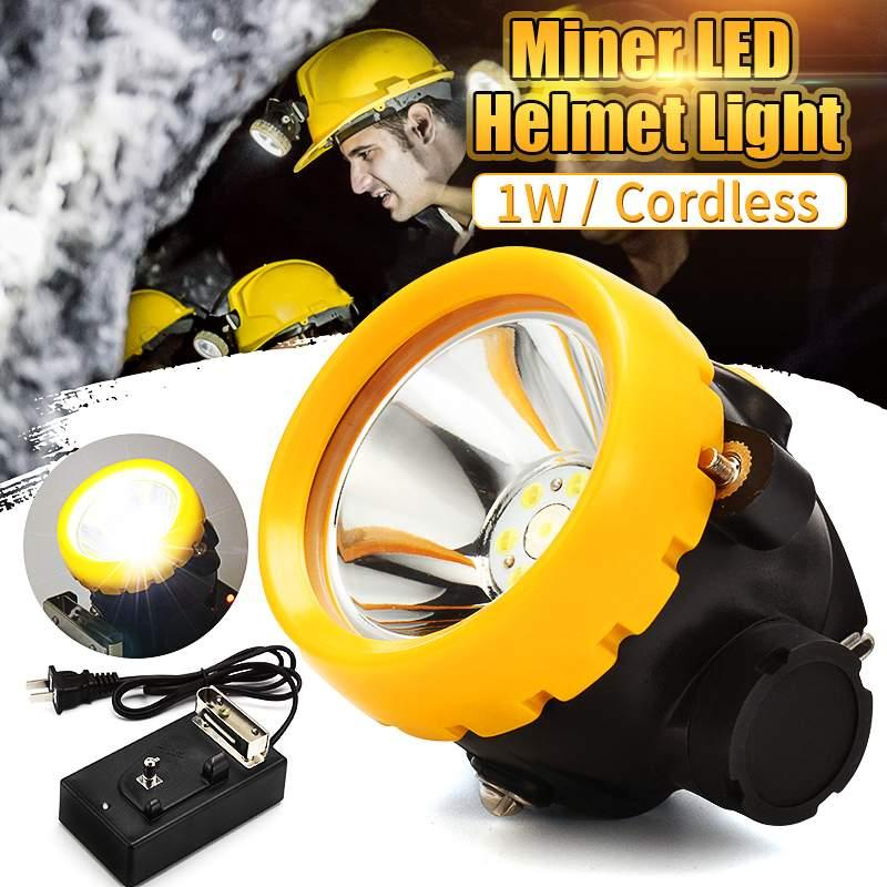 3500Lx LED Headlamp Mining Light Cap Lamp searchlight Headlamps With Charger