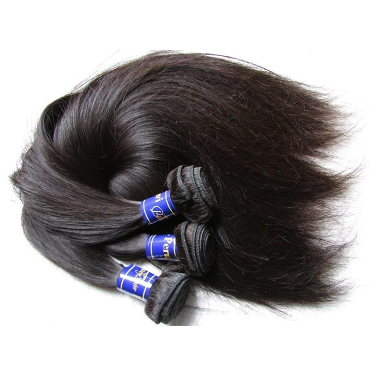 Beautysister Hair Products Unprocessed Peruvian Virgin Remy Human Hair Extension Bundles Straight 3Pcs 300g Lot Cut From One Donor