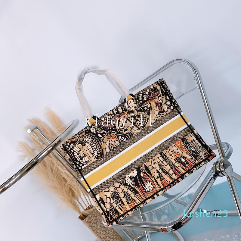 marca Mulheres Bolsas grande letra ombro sacos de compras de alta qualidade Flower Beach Bags Lady bordado bolsas com l26 saco de pó