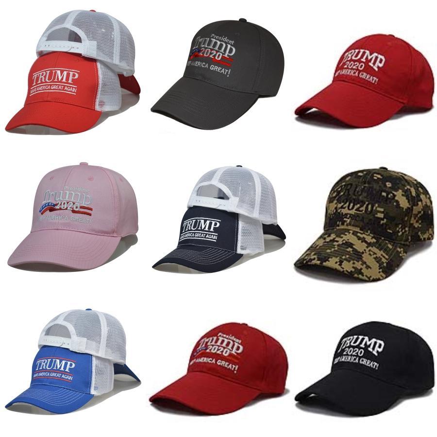 Não Trump 2020 Hat Baseball Caps Mantenha Faça América grande bordado Camo mais barato Donald Trump Kasket Garden2010 ZpfiZ # 922 # 557