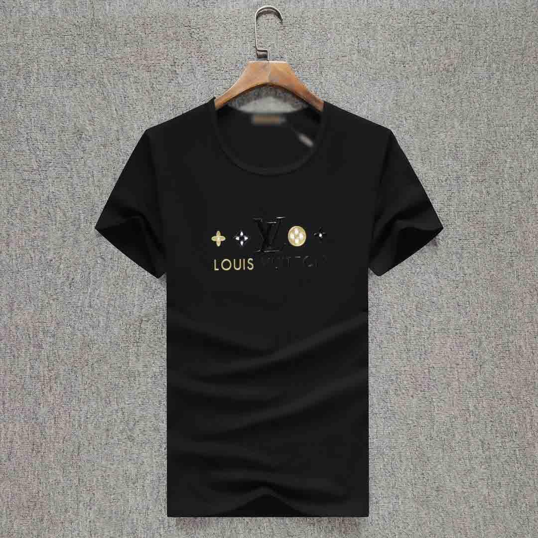2020 Nouveau Homme T-shirts Mode T-shirt décontracté hommes T-shirts Tops Medusa Floral Lettre d'impression drôle