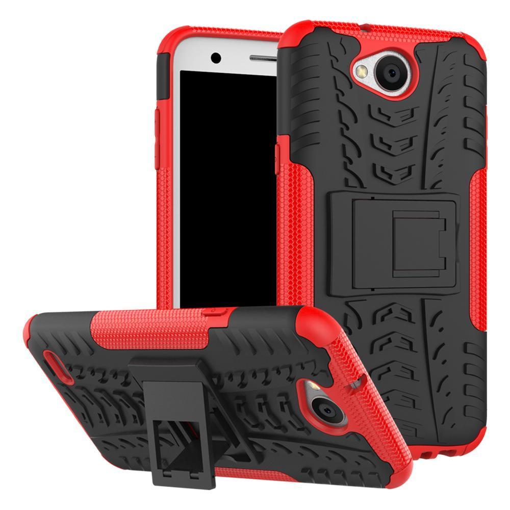 Cgjxs For Lg X Power 2 Moto Z2 Play Moto M P10 Plus Honor 6x Dazzle Hybrid Kickstand Impact Rugged Heavy Duty Tpu Pc Shock Proof Case Cover