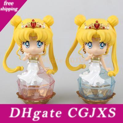 Anime Beauty Girl New Sailor Moon Month Rabbit Ab Moon Queen Beautiful Treasure Figure Decoration Doll Gift