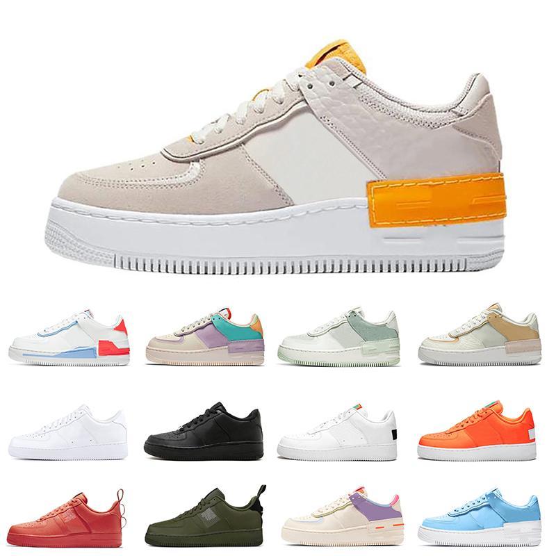 Sıcak satış kadınlar Hemen Portakal Ladin Aura Buğday Yüksek moda mens spor ayakkabıları eğitmenler ayakkabı 36-45 womens rahat ayakkabılar erkekler Gölge Polen Yükselişi