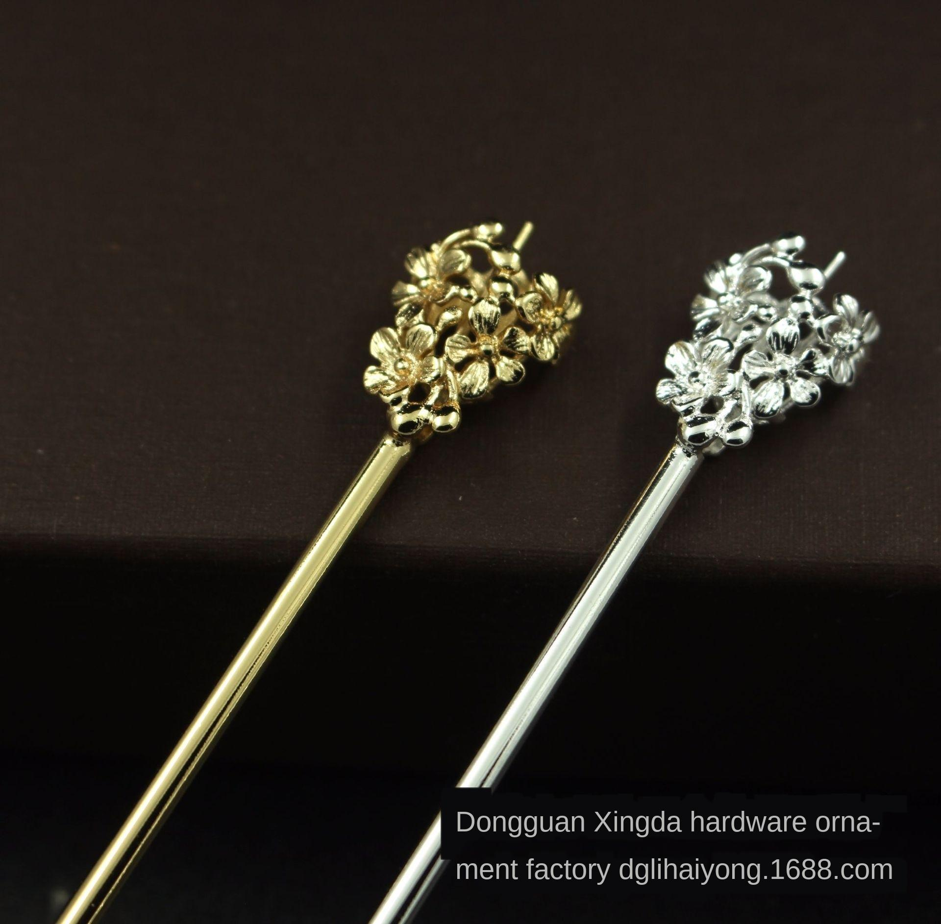 Cor-preservando ouro soldagem e hairpin integrado Rod vídeo antigo cor-preservando ouro soldagem Acessórios e adereços hai integrado