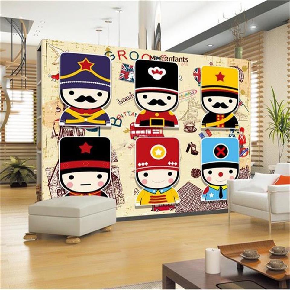tamanho personalizado foto 3d papel de parede murais sala antigos caracteres chineses 3d sofá imagem de TV pano de fundo papel de parede adesivo não-tecido mural