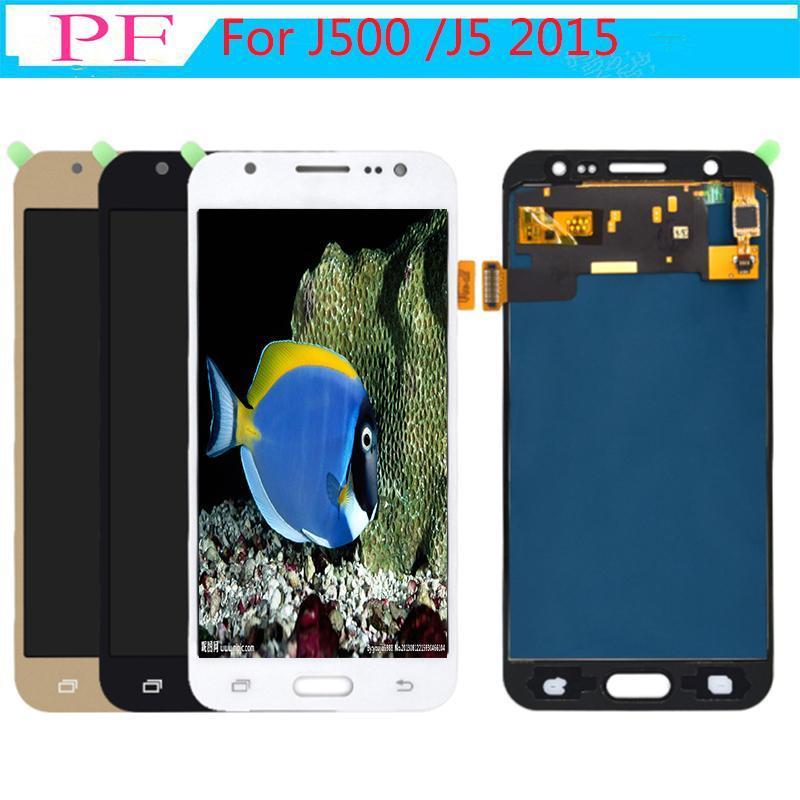 cgjxs Яркость Регулируемая Tft для Samsung Galaxy J5 / J500f J500 / J5m / J5 2015 Дисплей сенсорный экран Digitizer Ассамблеи Замена ЖК