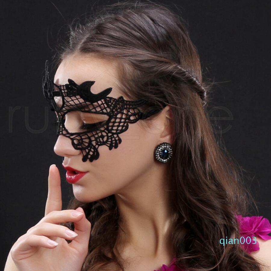 Lace Halloween Masken Schöne Partydekoration Half Face Frau Lady Karneval-Masken für Weihnachtsgeschenk Disco RRA1898