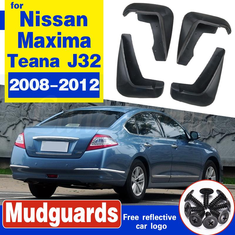 Auto-Schmutzfängern für Nissan Maxima (Australien) Teana J32 2008-2012 Schmutzfänger Schmutzfänger Schmutzfänger Kotflügel Fender 2009 2010 2011