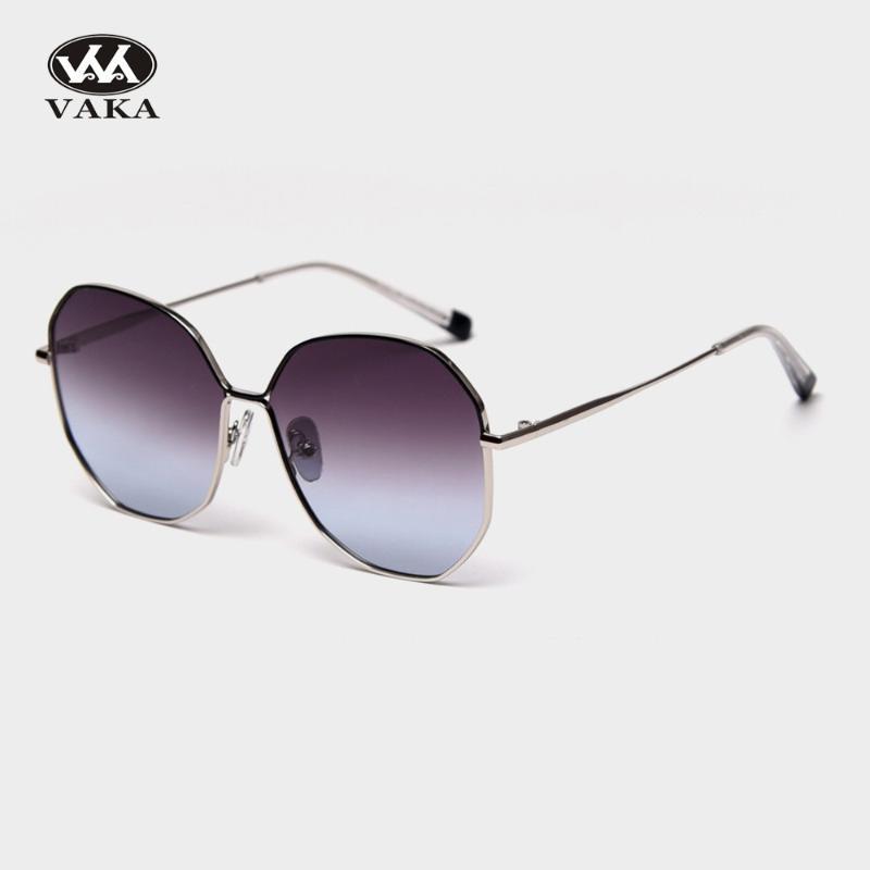Polarisée Femelle Lentille Gradient Lunettes Femmes Femmes 2020 Vintage Soleil Mamans Sunglases Sunglases Design Sunglasses NXPCF