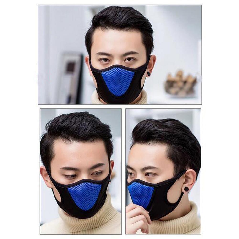 En Stock rapide des navires de protection Masque Visage Sport Adulte Couverture antipoussière Masques réutilisables Masques pleine anti-poussière élastique respirateurs populaire coton