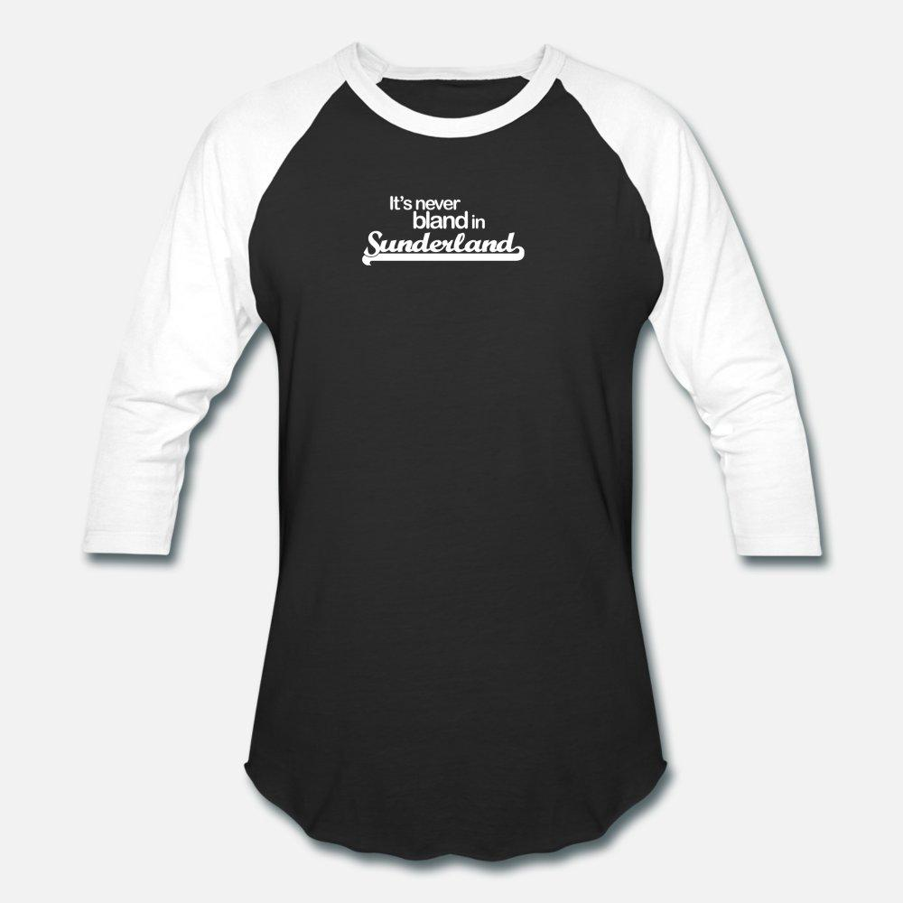 Es ist nie Bland In Sunderland T-Shirt Männer Los 100% Baumwolle S-Xxxl Kleidung loser Lustige Frühlings-Herbst-Trend