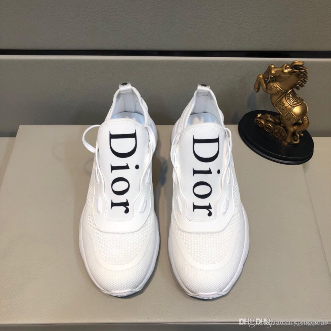 shoesAD dos homens selvagens sapatos desportivos de luxo designer casuais elegantes confortáveis